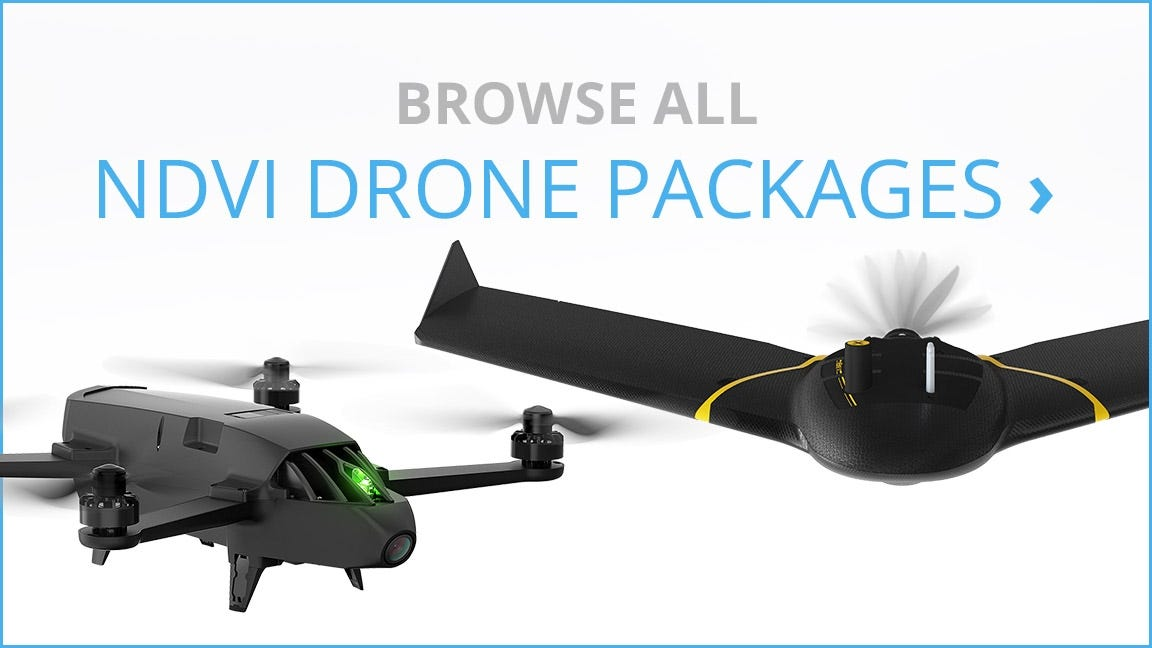 View All NDVI & Multispectral Drone Packages