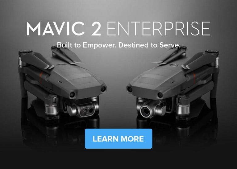 Shop DJI Mavic 2 Enterprise Dual Thermal Drone