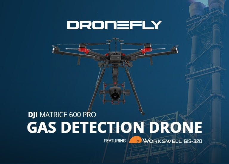 Shop Workswell GIS-320 Gas Detection Drone