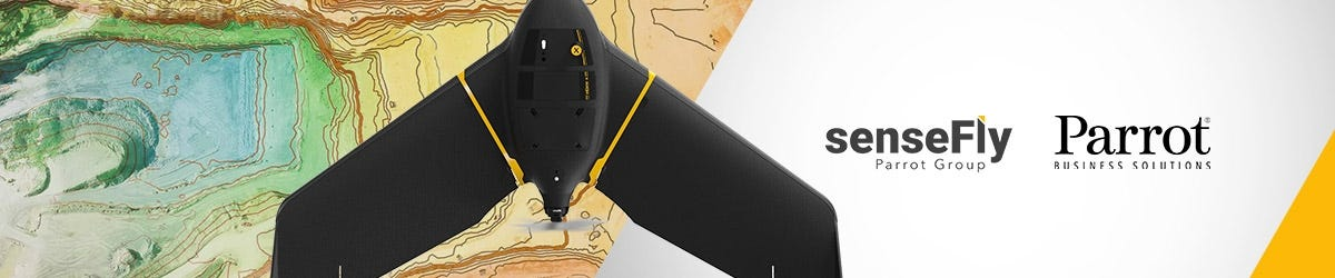 senseFly eBee Fixed Wing Drone